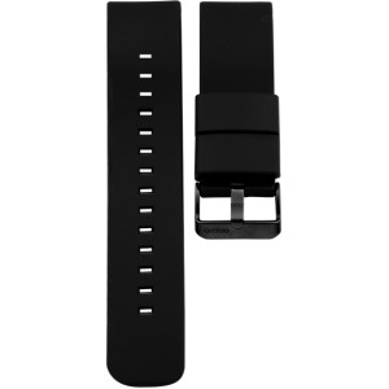 Bracelet montre connecté OOZOO caoutchouc noir - 403.20 - Marque OOZOO