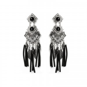 - Eastern black leather feathers