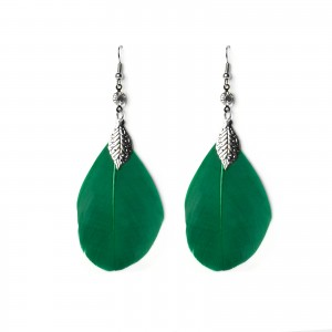 - green feather