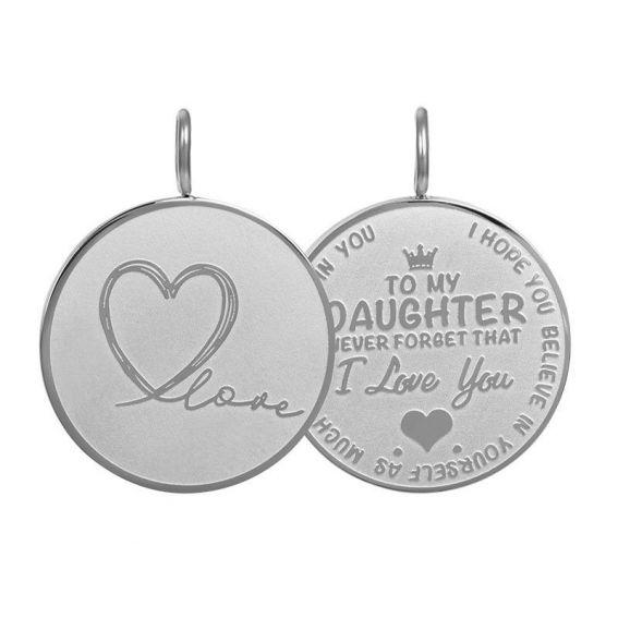 Pendant Daughter Love big