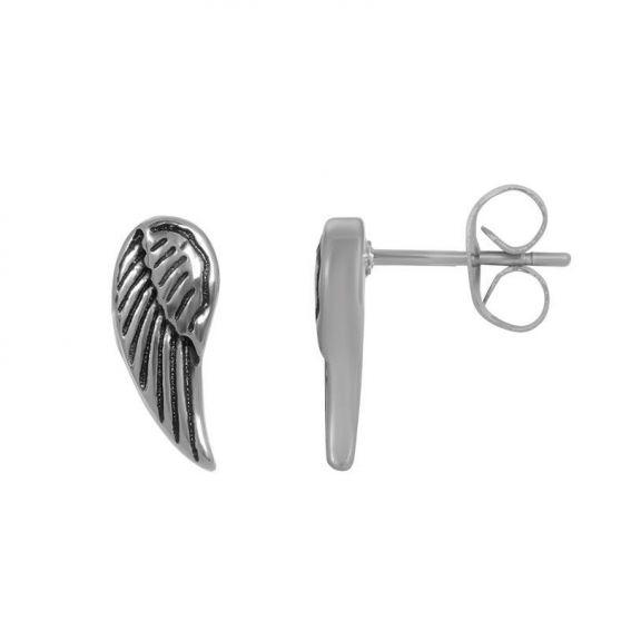 Ear studs Angel wings