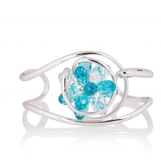 Andrea Marazzini bijoux - Bracelet cristal Swarovski Small Bouquet LT/AB BR1