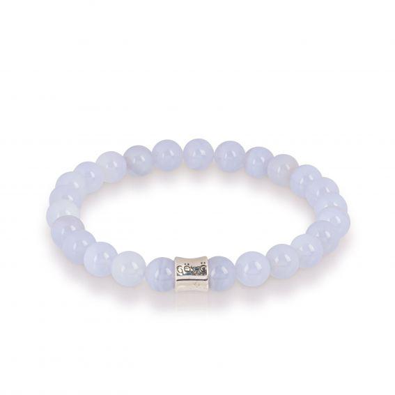 Göshö - [Freedom / Chakra] Blue Lace Agate - Bracelet Gosho