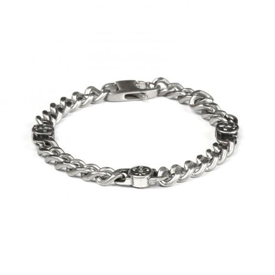 Bijoux bracelet homme signes médiévaux - Bijoux homme