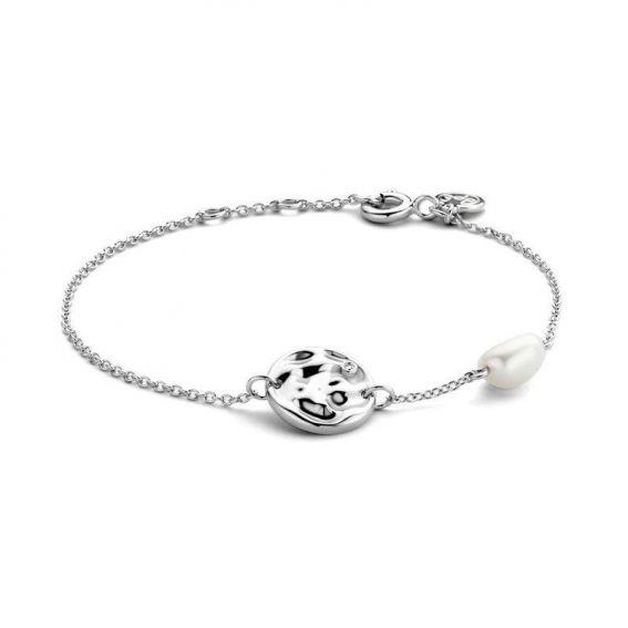 Bracelet Coco - 1 diamant + 1 perle d'eau douce