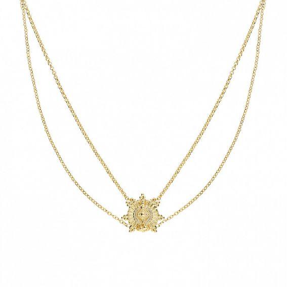 Tamouré black necklace