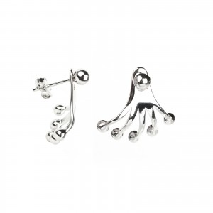 Bijou en argent - Drills adjustable balls