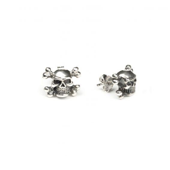 Bijou en argent - Drilling skull