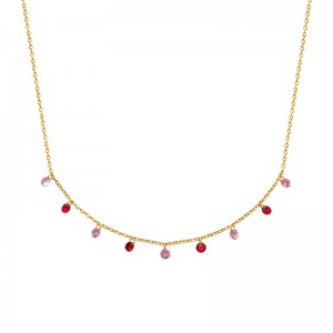 Collier pl-or 750 3mic ps