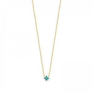 Collier pl-or 750 3mic oz ps