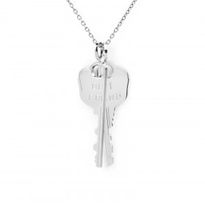 Mya Bay - 2 pendants key chain Best friend + MYA BAY