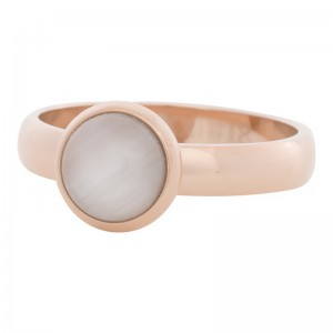 iXXXi - Solitaire white cat eye 10mm pink iXXXi