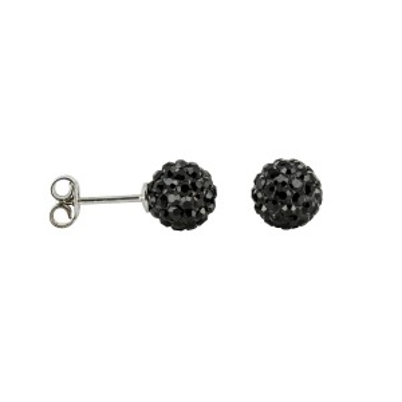 Bijou en argent - Drills rhinestone balls