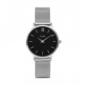Cluse - Watch CLUSE - Midnight Mesh silver / black