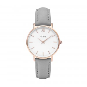 Cluse - Watch CLUSE - Midnight rose gold white / gray