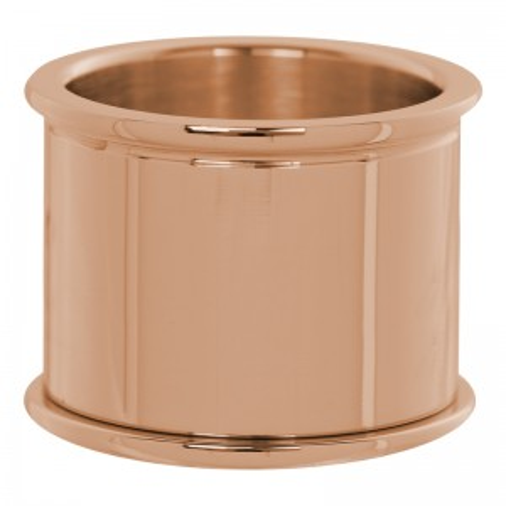 Base iXXXi 16mm rosée, bijoux et bagues à personnaliser