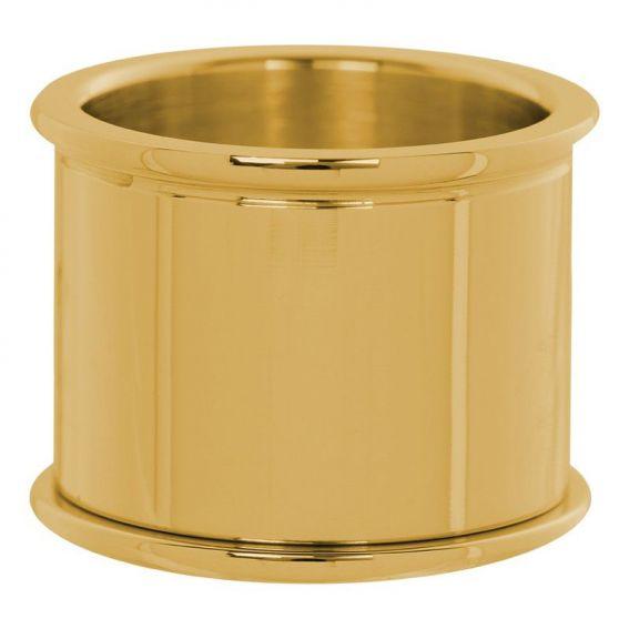 Base iXXXi 16mm dorée, bijoux et bagues à personnaliser