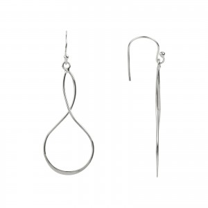 Bijou en argent - Earrings eight 925
