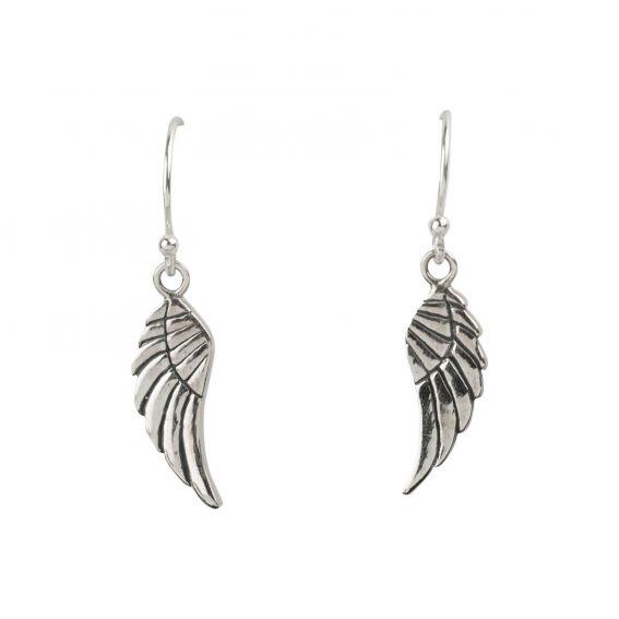 Boucles d'oreilles en argent en forme d'aile - Bijoux en argent 925