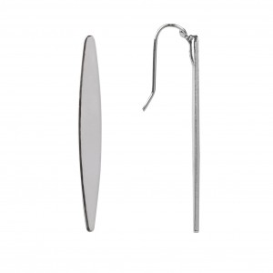 Bijou en argent - Earrings long stems
