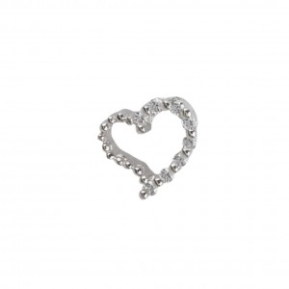 Bijou en argent - Stone Heart Pendant