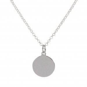 Bijou en argent - Necklace and pendant silver medal 925
