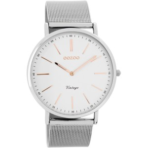 Montre Oozoo Timepieces C7387 silver/white/rose - Marque Oozoo