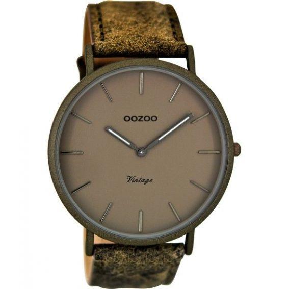 Montre Oozoo Timepieces C8136 sandgrey/taupe - Marque de montre Oozoo
