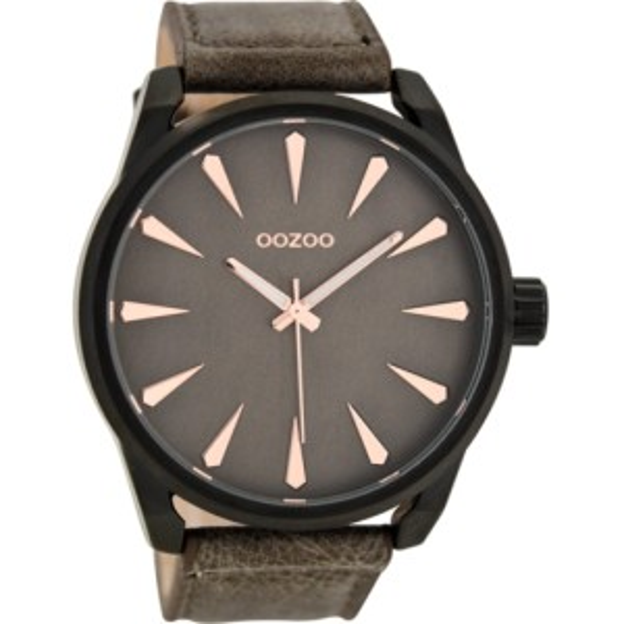Montre Oozoo Timepieces C8228 dark brown - Montre de la marque Oozoo