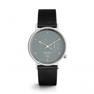 The Walther Black Mesh - Montre de la marque KOMONO