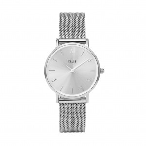 Cluse - Watch CLUSE - Midnight Mesh full silver
