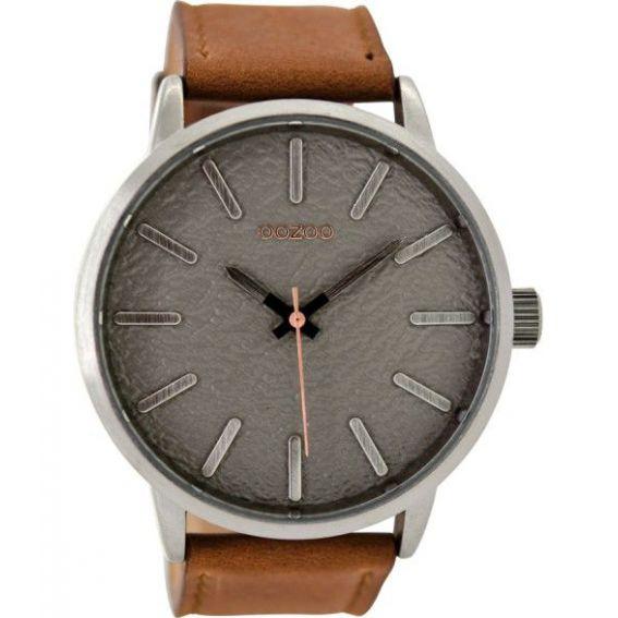 Montre Oozoo TimepiecesC9025 cognac/lightgrey - Marque de montre Oozoo