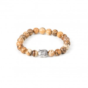 Bijou en argent - Bracelet brown child Buddha balls