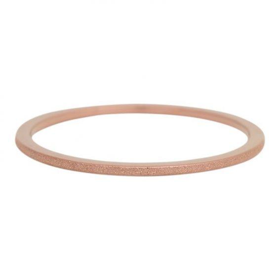 Anneau recouvrant iXXXi sablée 1mm iXXXi bronze - Bijoux marque iXXXi