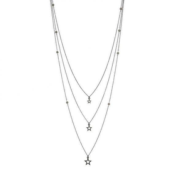 Collier de marque iXXXi sphères et étoiles - Bijoux de marque iXXXi