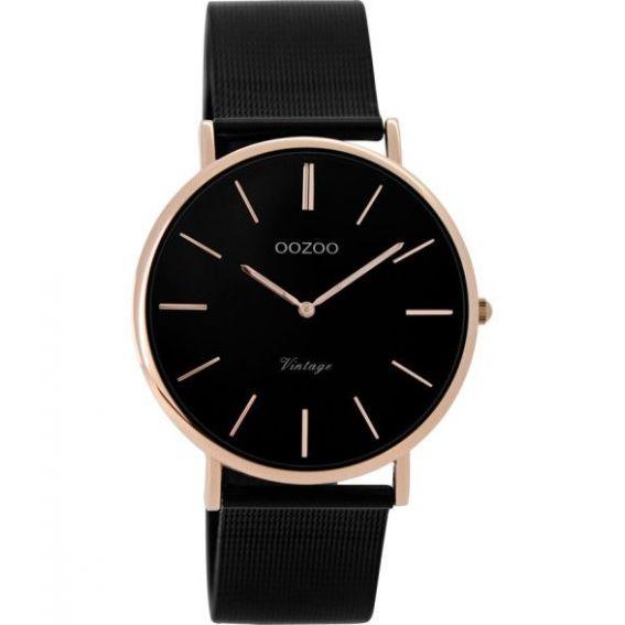 Montre Oozoo Timepieces C8870 black - Marque de montre Oozoo