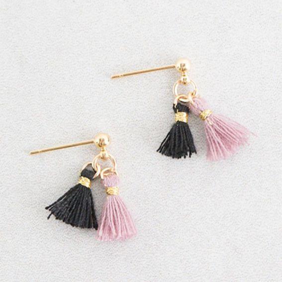 Ulani Pompon - Boucles d'oreille et bijoux tendances